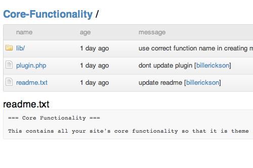 core-functionality